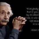 Albert Einstein Physicist Art 32x24 Poster Decor