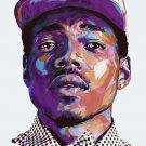 Chance The Rapper Acid Rap Art 32x24 Poster Decor