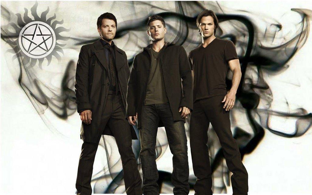 Supernatural TV Show Art 32x24 Poster Decor