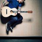 Ed Sheeran Singer Songwriter Art 32x24 Poster Decor