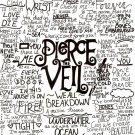 Pierce The Veil Music Band Group Art 32x24 Poster Decor