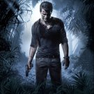 Uncharted 4 Game Wall Print POSTER Decor 32x24