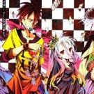 No Game No Life Anime Wall Print POSTER Decor 32x24