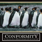 Penguins Leadership Motivational Wall Print POSTER Decor 32x24