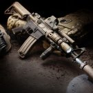 Assault Rifle Weapon Wall Print POSTER Decor 32x24