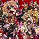 Danganronpa Anime Manga Wall Print POSTER Decor 32x24