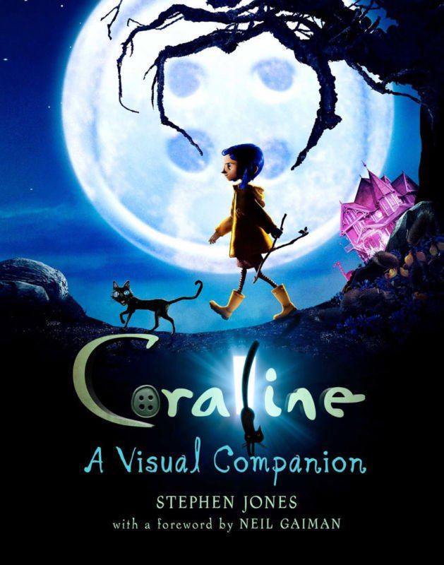Coraline Movie Wall Print POSTER Decor 32x24