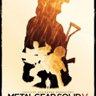 Metal Gear Solid Snake The Phantom Pain Spun Wall Print POSTER Decor 32x24