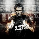 Buffon Goalkeeper Football Stars Wall Print POSTER Decor 32x24