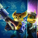 Ratchet And Clank Wall Print POSTER Decor 32x24