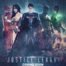 Justice League Minimalist Movie Anime Wall Print POSTER Decor 32x24