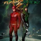 The Flash And Arrow TV Show Wall Print POSTER Decor 32x24