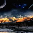 Planet Galaxy Universe Sci Fi Space Wall Print POSTER Decor 32x24