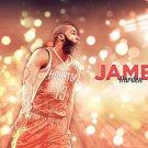 James Harden Basketball Star Wall Print POSTER Decor 32x24