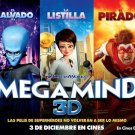 Megamind Movie Wall Print POSTER Decor 32x24