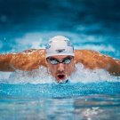 Michael Phelps Swimmers Wall Print POSTER Decor 32x24