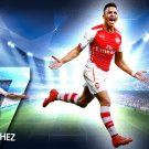 Alexis Sanchez Football Star Wall Print POSTER Decor 32x24