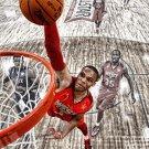 Russell Westbrook Basketball Star Wall Print POSTER Decor 32x24
