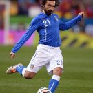 Andrea Pirlo Football Star Wall Print POSTER Decor 32x24