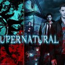 Supernatural US TV Show Season Art Wall Print POSTER Decor 32x24