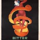 Vintage Ad Bitter Campari Wall Print POSTER Decor 32x24
