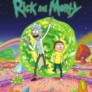 Rick And Morty TV Animation Wall Print POSTER Decor 32x24