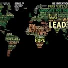 Creative World Map Wall Print POSTER Decor 32x24