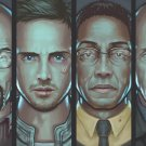 Breaking Bad Characters Walter White Wall Print POSTER Decor 32x24