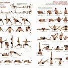 Yoga Ashtanga Wall Print POSTER Decor 32x24