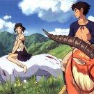 Princess Mononoke Anime Flim Wall Print POSTER Decor 32x24