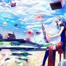 Hatsune Miku Vocaloid Anime Wall Print POSTER Decor 32x24