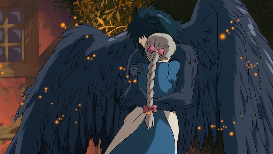 Howls Moving Castle Anime Wall Print POSTER Decor 32x24