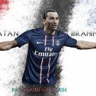 Zlatan Ibrahimovic Football Star Wall Print POSTER Decor 32x24