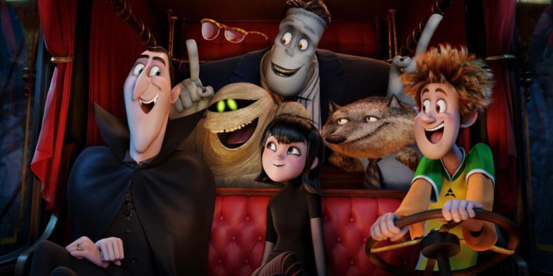 Hotel Transylvania 1 2 Movie Wall Print POSTER Decor 32x24