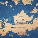 Game Of Thrones 1 2 3 Map TV Wall Print POSTER Decor 32x24