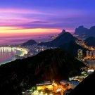 Rio De Janeiro City Wall Print POSTER Decor 32x24