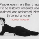 Audrey Hepburn Movie Star Wall Print POSTER Decor 32x24