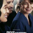 Greys Anatomy TV Show Wall Print POSTER Decor 32x24
