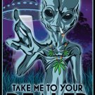 Take Me To Your Dealer Wall Print POSTER Decor 32x24