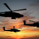 Apache Boeing A Helicopter Gunship Wall Print POSTER Decor 32x24