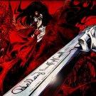 Alucard Hellsing Vampire Anime Wall Print POSTER Decor 32x24