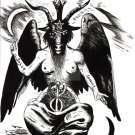 Baphomet Wall Print POSTER Decor 32x24