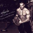 Lazar Angelov BodyBuilding Muscle Man Wall Print POSTER Decor 32x24
