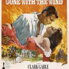 Vintage Gone With The Wind Movie Wall Print POSTER Decor 32x24