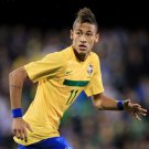 Neymar Da Silva Brazil Football Star Wall Print POSTER Decor 32x24