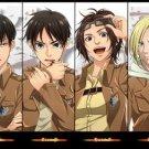 Attack On Titan Japanese Manga Anime Wall Print POSTER Decor 32x24