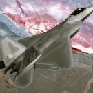 F 22 Raptor Stealth Fighter Wall Print POSTER Decor 32x24