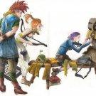 Chrono Trigger Chrono Cros Game Wall Print POSTER Decor 32x24