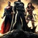 Superman Vs Batman 2015 Movie Wall Print POSTER Decor 32x24