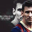 Lionel Messi Football Star Soccer Wall Print POSTER Decor 32x24